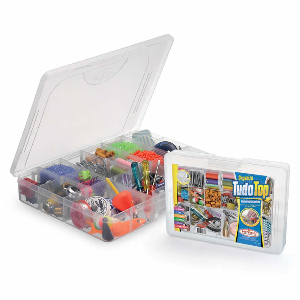 Caixa Organizadora com Divisórias Móveis Organiza Tudo Top Nitron 187