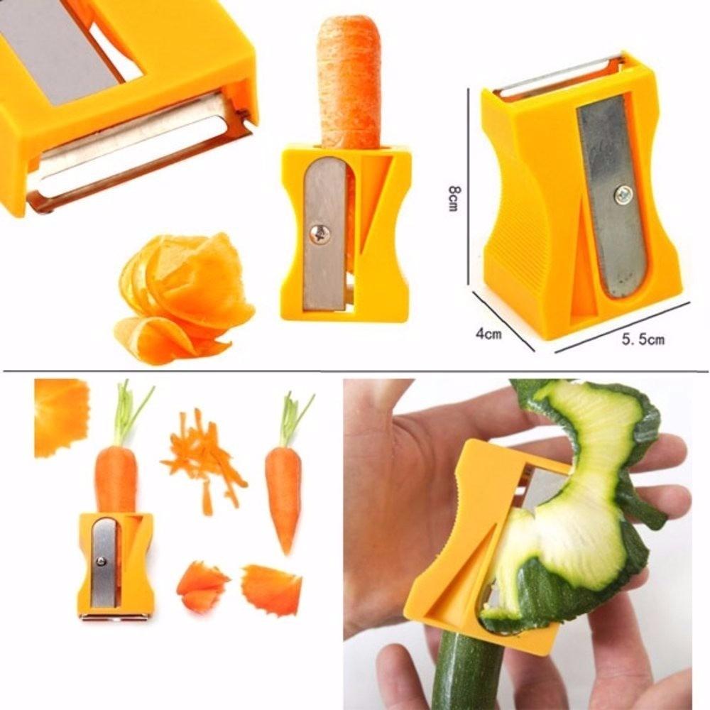 Cortador de Legumes para Decorar Pratos com Descascador 351