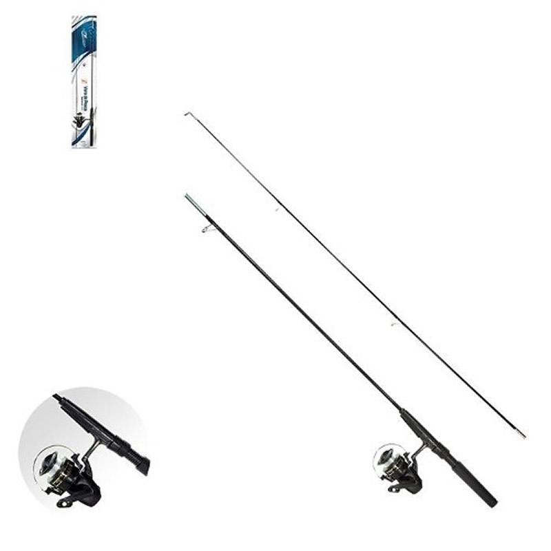 Vara de Pesca Desmontável com Molinete 1,60m Kit com Bóia Anzol e Chumbo Art Sport Z4367-XC469