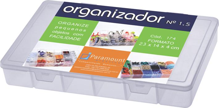 Caixa Organizadora com Divisórias Média M Paramount 174
