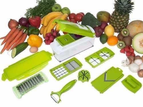 Nicer Dicer Plus Cortador Fatiador de Legumes Verduras e Frutas