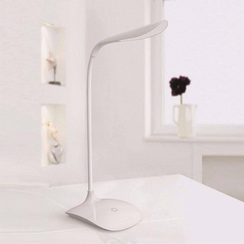 Luminária de Mesa Recarregável USB Flexível Touch 188