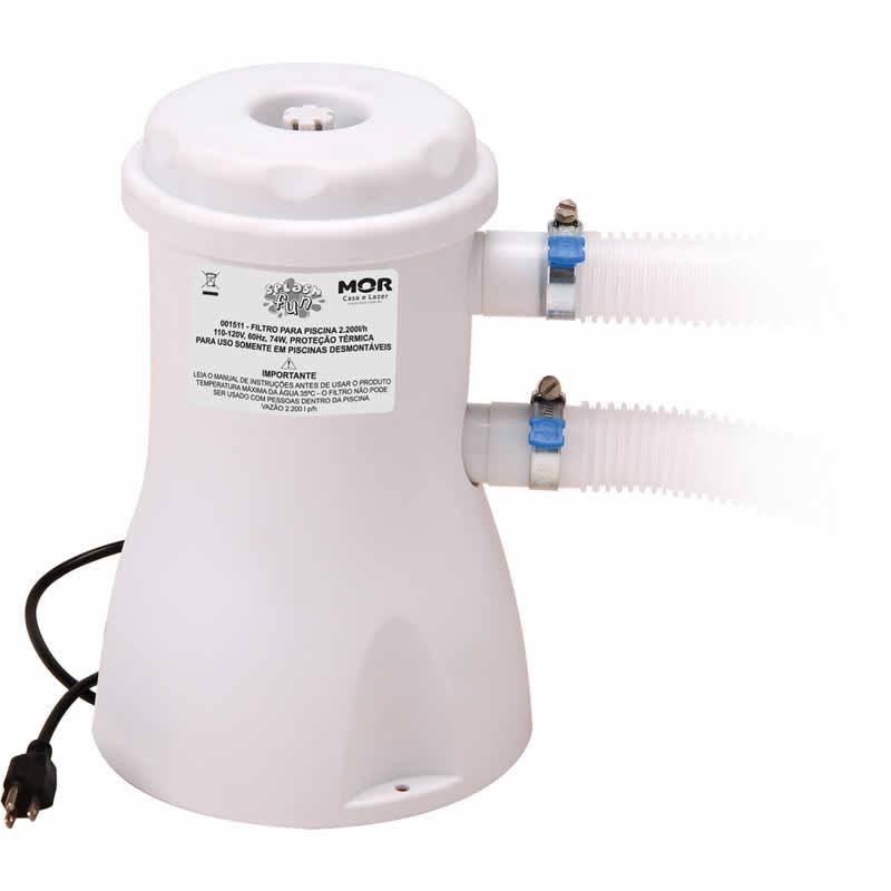 Filtro para Piscina Vazão 2200 l/h Mor