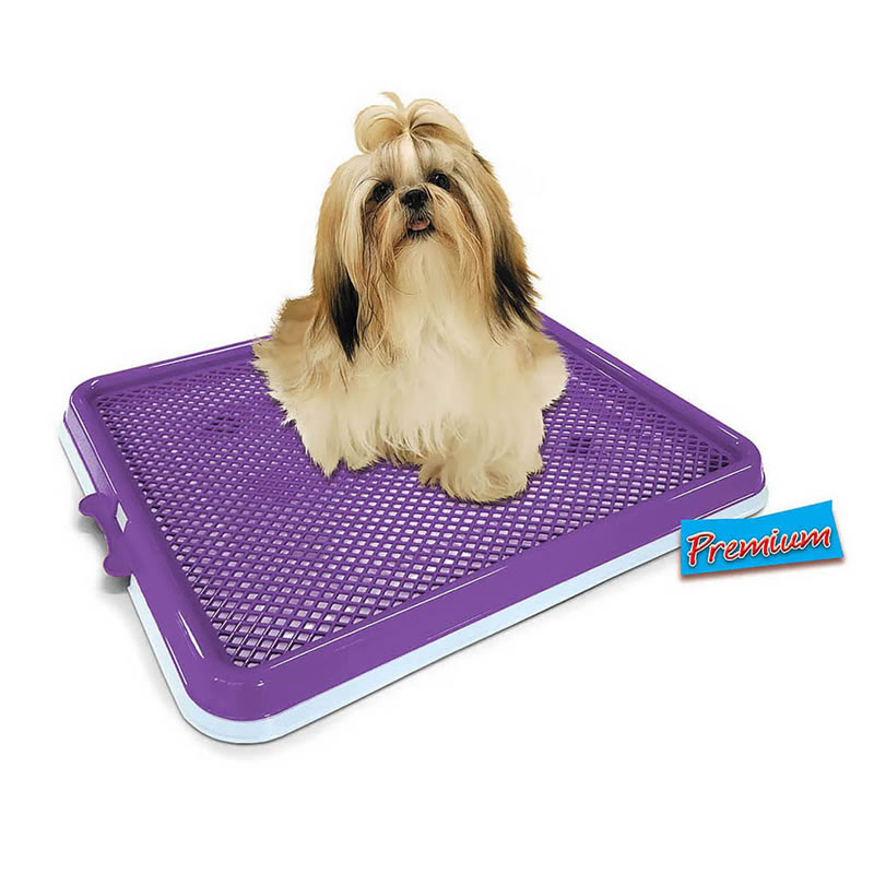 Sanitário Higiênico Xixi Pets Premium Pet Injet Azul 10095