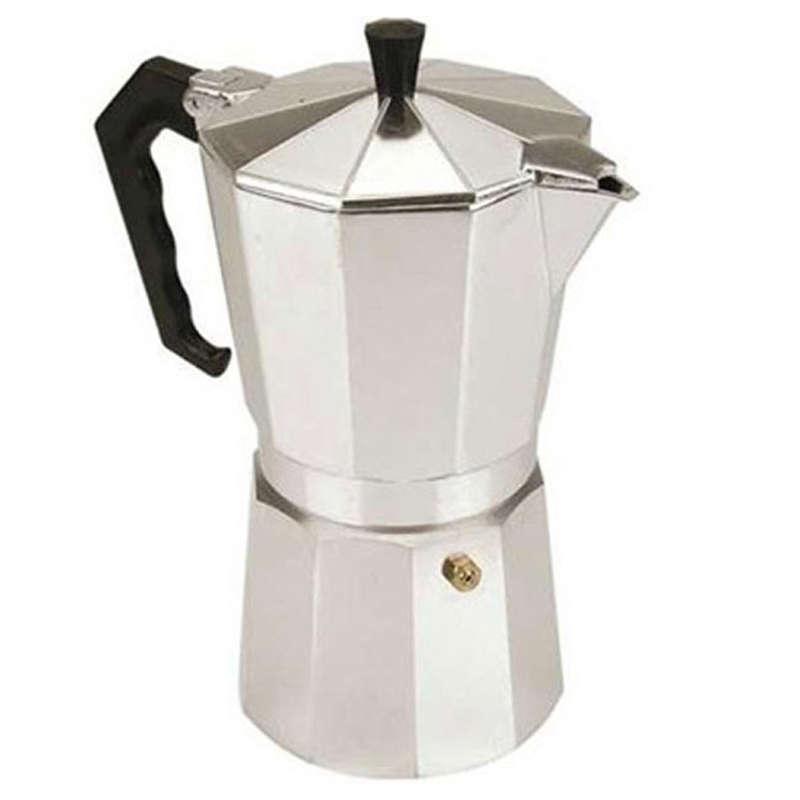 Cafeteira Tipo Italiana 9 Xícaras em Alumínio 123Util UD55