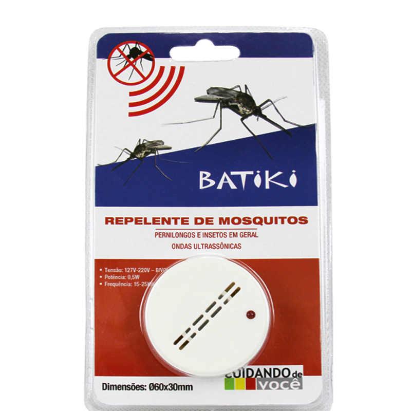 Repelente Eletrônico Para Mosquitos Pernilongos e Insetos Bivolt Batiki 32842