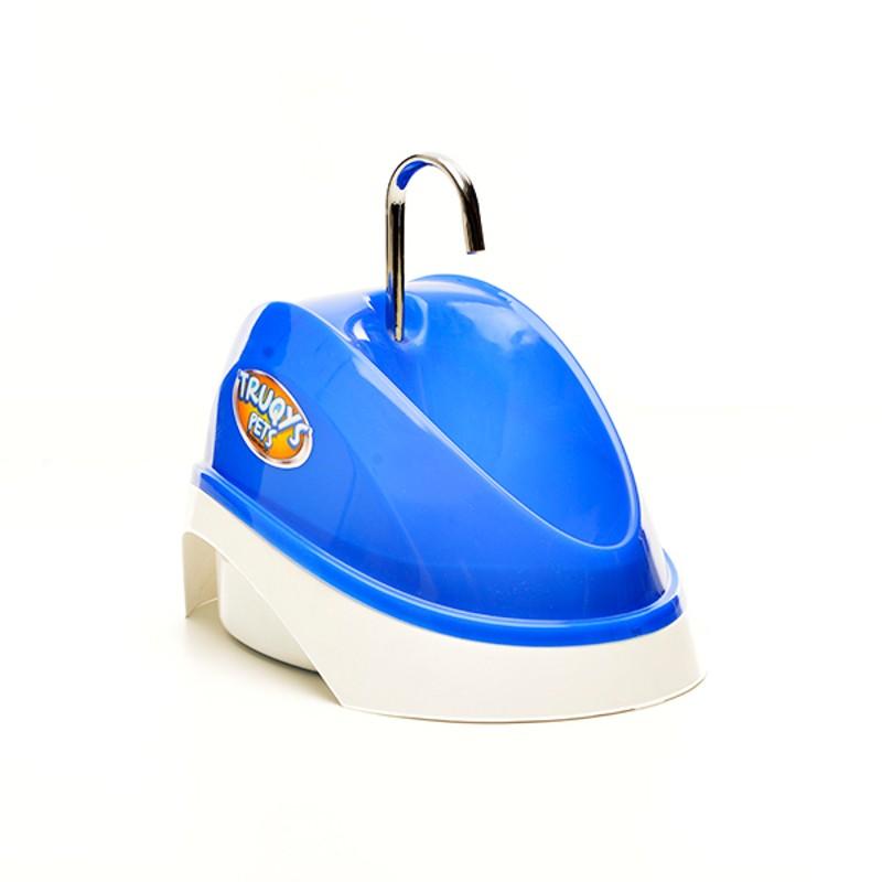 Fonte Bebedouro para Gatos Água Corrente Azul 110V Truqys Pet 1800AZ