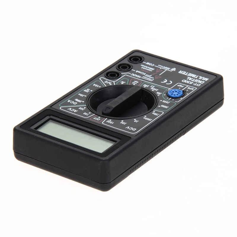 Multímetro Digital com Bip 1000V Pontas de Prova DT830D
