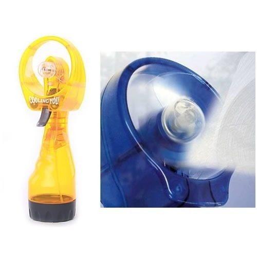 Kit 15 Ventiladores De Mão Com Borrifador De Água Portátil