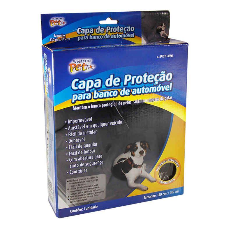 Capa de Proteção para Banco de Carro Impermeável Western PET-396