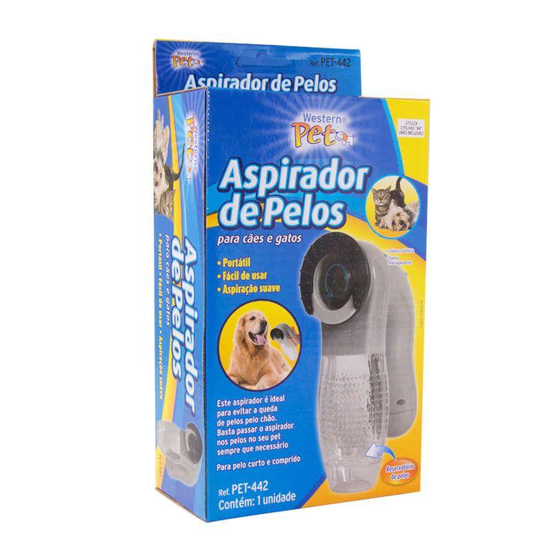 Escova Aspirador De Pelos Portátil Para Cães Gatos Pet-442