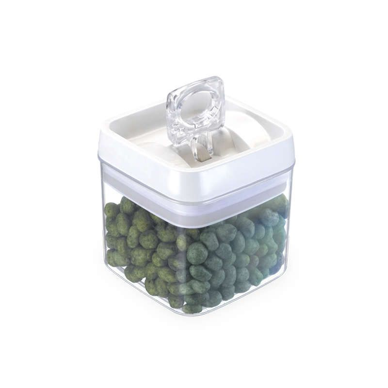 Kit 6 Potes Herméticos em Acrílico 1,1 Litros Injeplastec 0281
