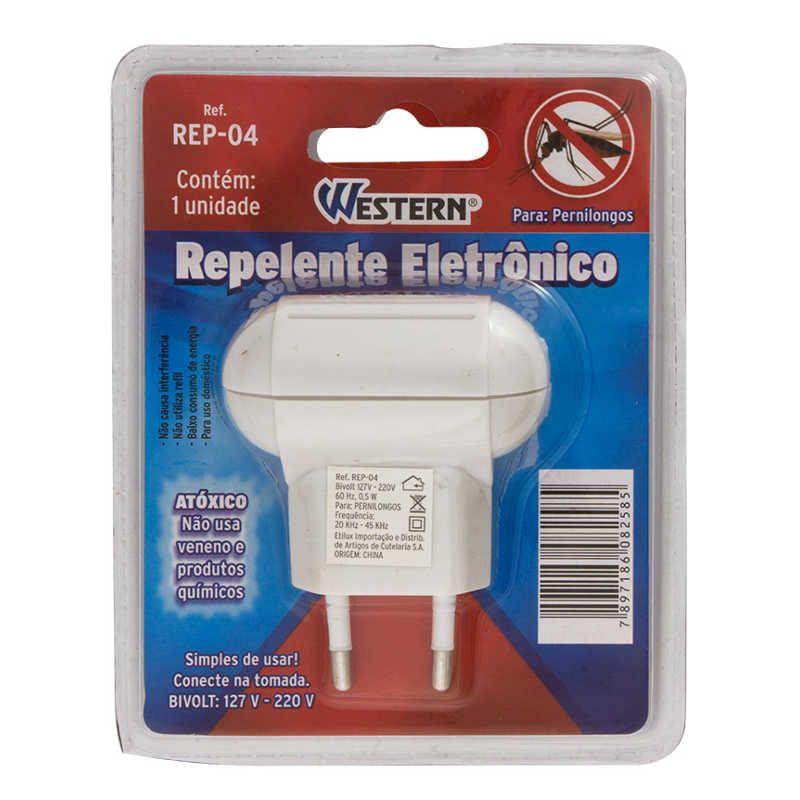 Repelente Eletrônico Para Pernilongos Bivolt Western REP-04