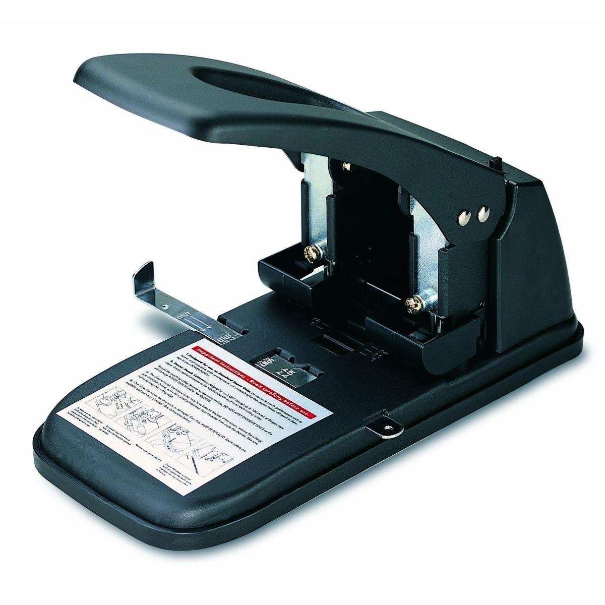 PERFURADOR PROFISSIONAL 2 FUROS DE 6mm PARA 100 FOLHAS.