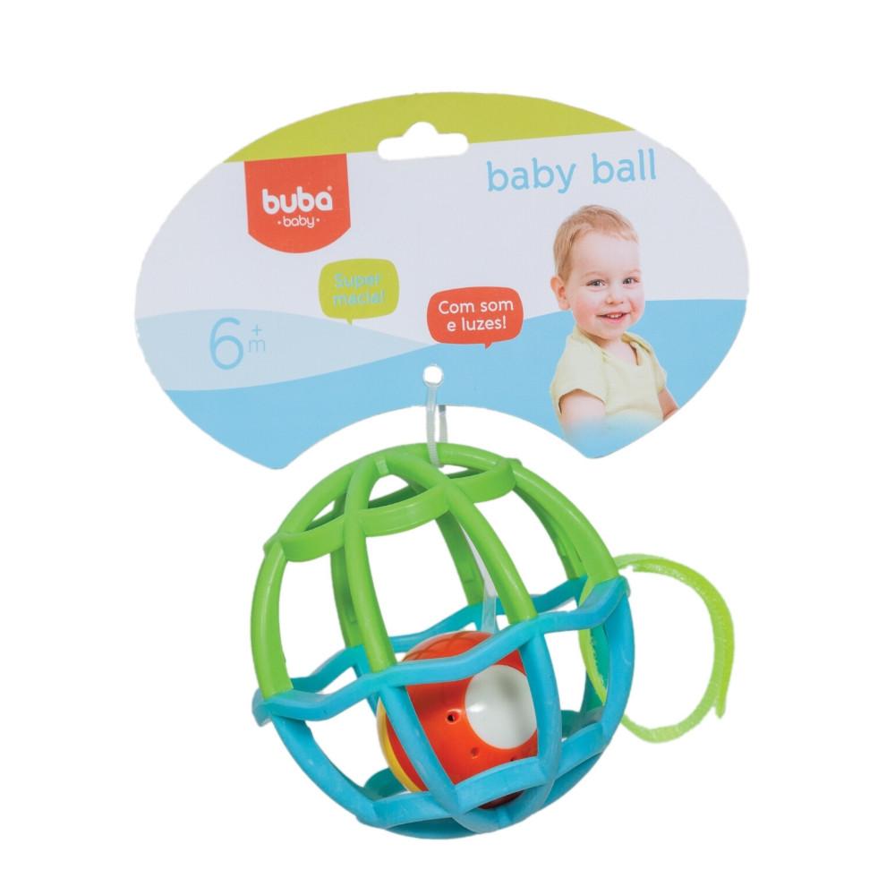 BUBA Baby Ball - Luz E Som Rosa