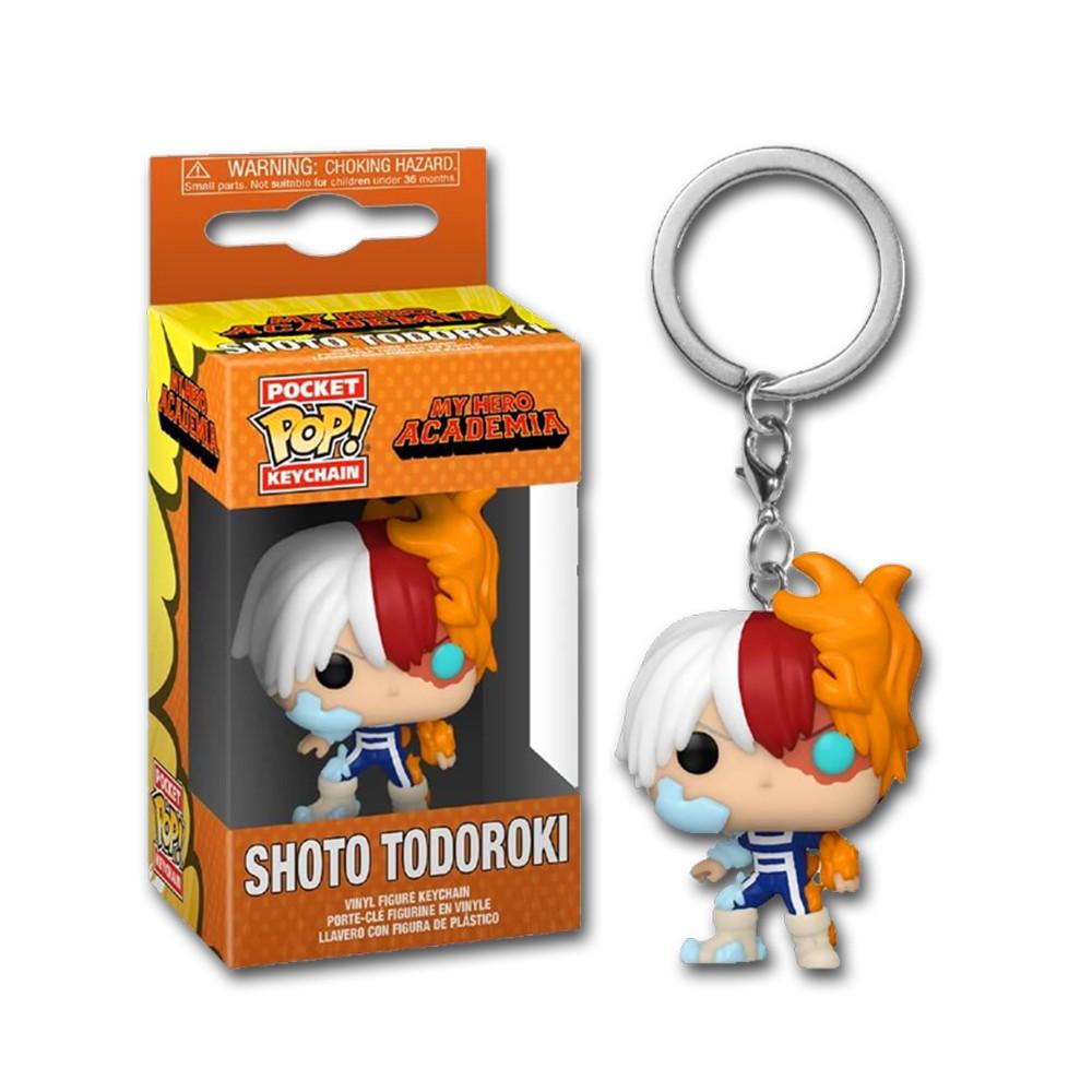 Chaveiro Funko Pop! Keychain: Boku no Hero - Todoroki Shoto