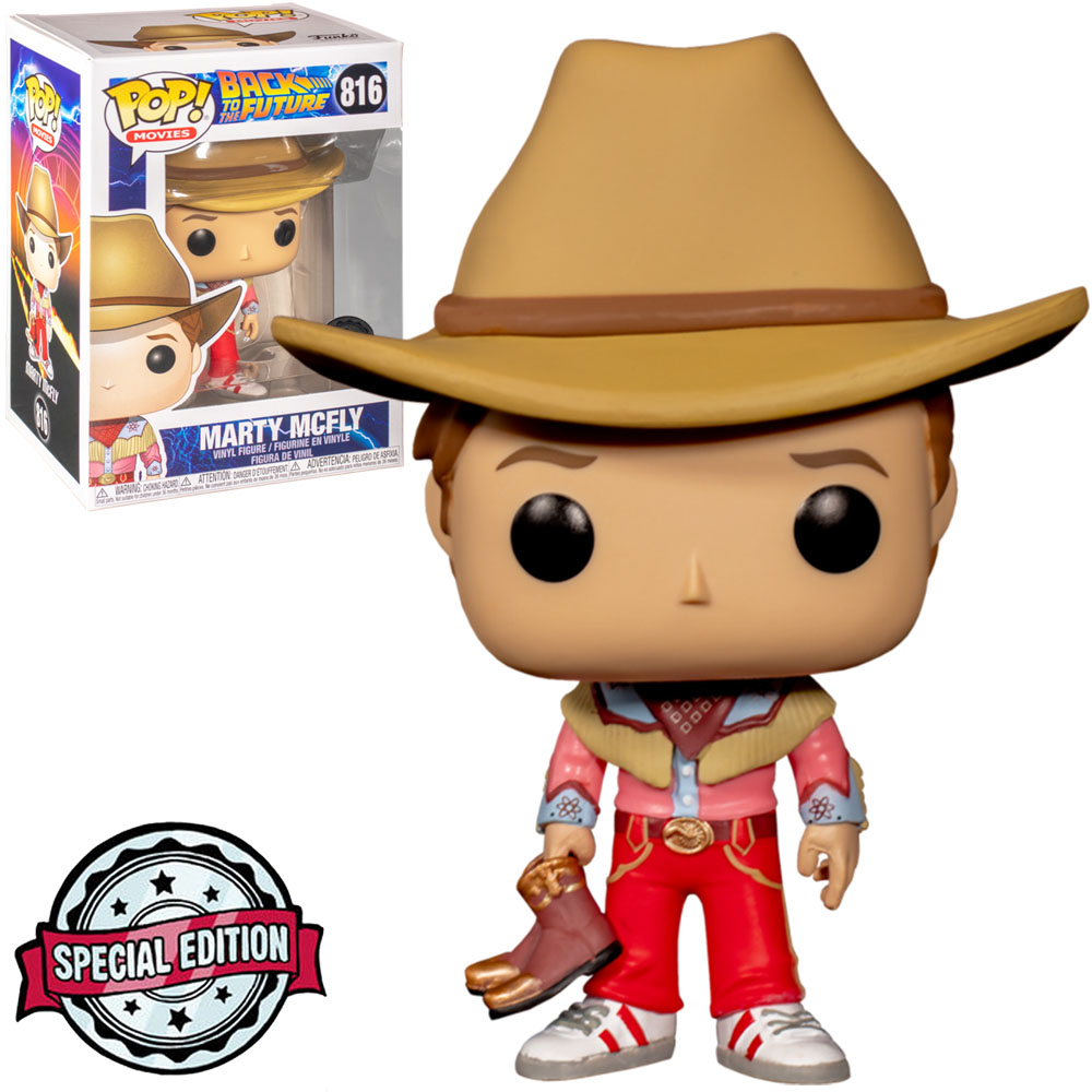 Funko Pop Back To The Future Marty Mcfly Special Edition 816