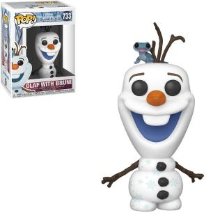 Funko Pop! Disney: Frozen II - Olaf with Bruni 733