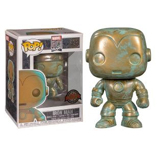 Funko Pop Marvel 80th Iron Man Patina Special Edition 498