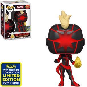 Funko Pop! Marvel: Dark Captain Marvel (Summer Convention 2020) 657