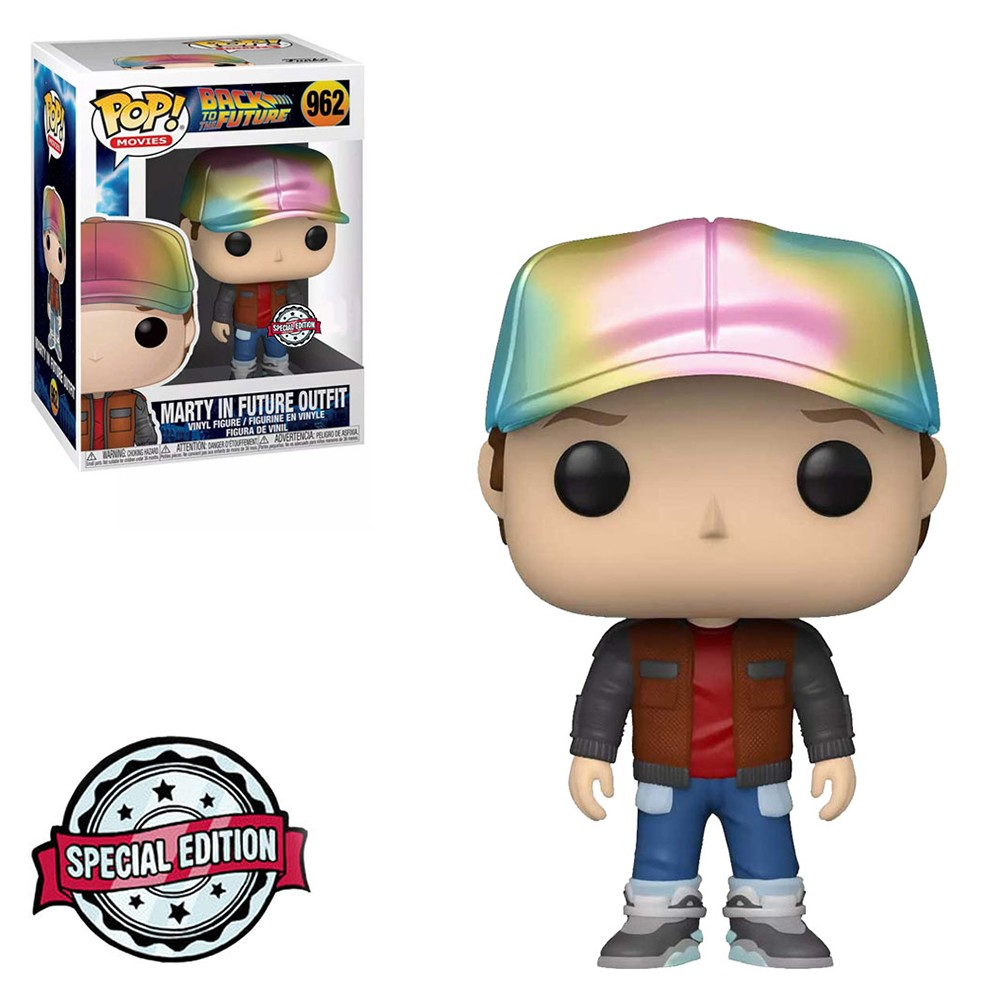 Funko Pop! Movies: Back to the Future - Marty McFly Future Outfit 962 Special Edition