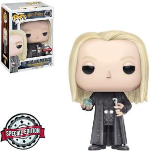 Funko Pop! Movies: Harry Potter - Lucius Malfoy holding Prophecy 40