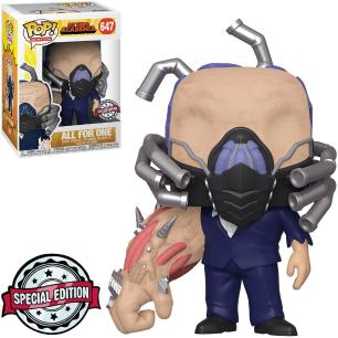 Funko Pop My Hero Academia All for one Charged Special Edition 647