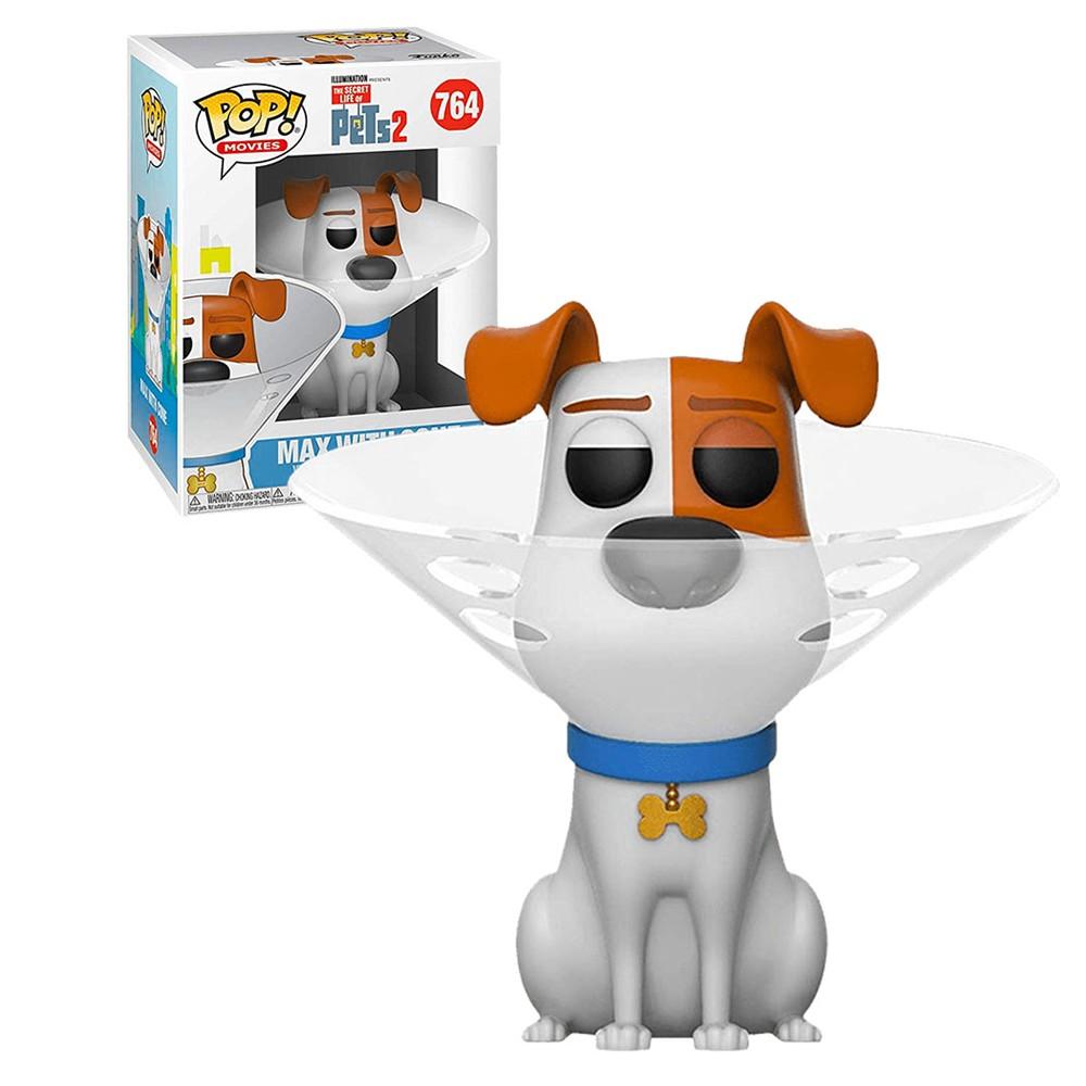 Funko Pop Pets 2 Max With Cone 764
