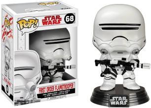 Funko Pop Star Wars First Order Flametrooper 68