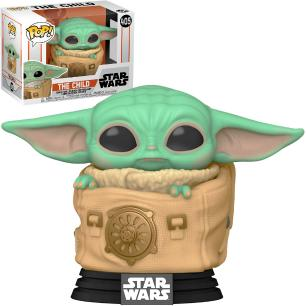 Funko Pop Star Wars Mandalorian Baby Yoda W/Bag 405