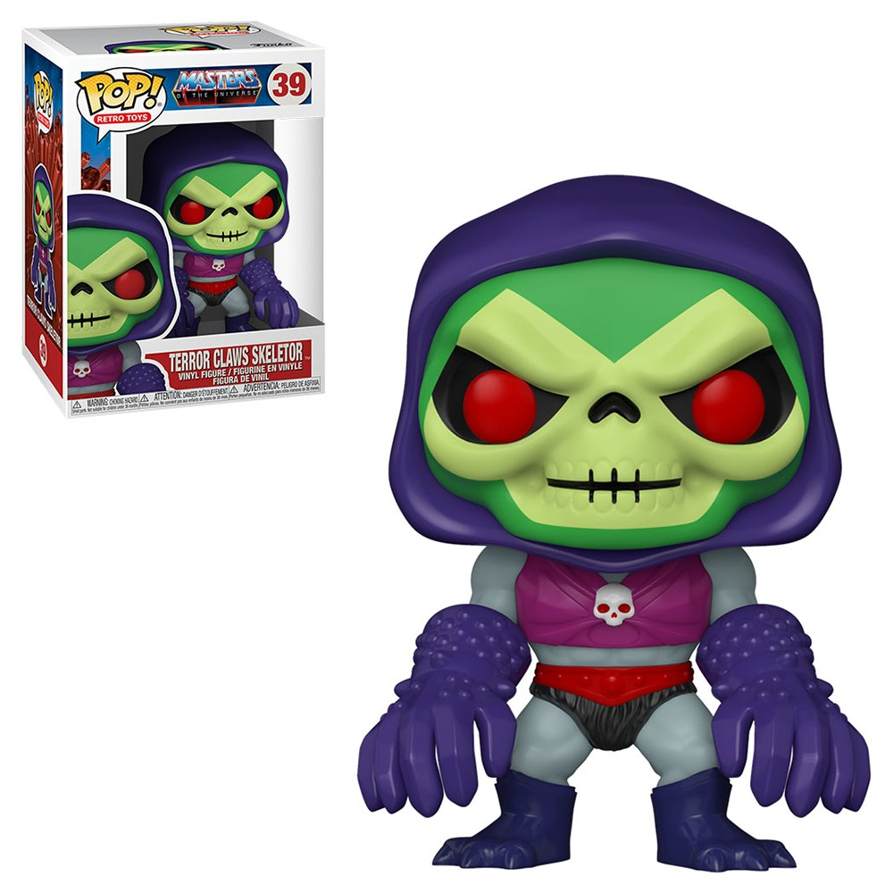 Funko Pop! Television: Master of the Universe - Terror Claws Skeletor 39