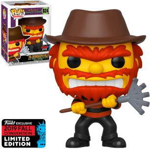 Funko Pop The Simpsons Tree House Of Horror Evil Groundskeeper Willie 2019 fall 824