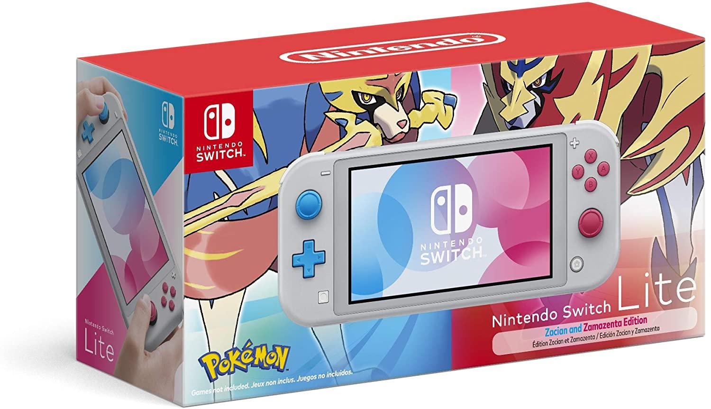 Nintendo Switch Lite Pokemon Edition (MODCHIP)