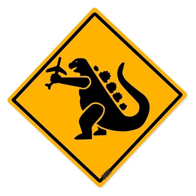 Placa Decorativa 30x30cm Animais Selvagens