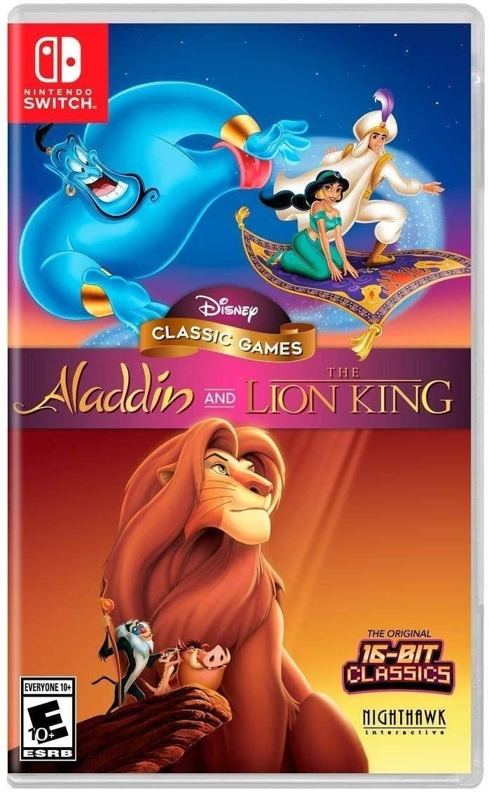 Disney Classic Games: Aladdin and The Lion King - Switch