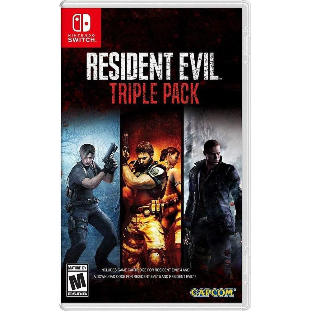 Resident Evil Triple Pack - Switch