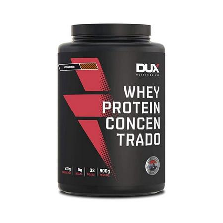 Whey Protein 900g Concentrado Cookies Dux Nutrition