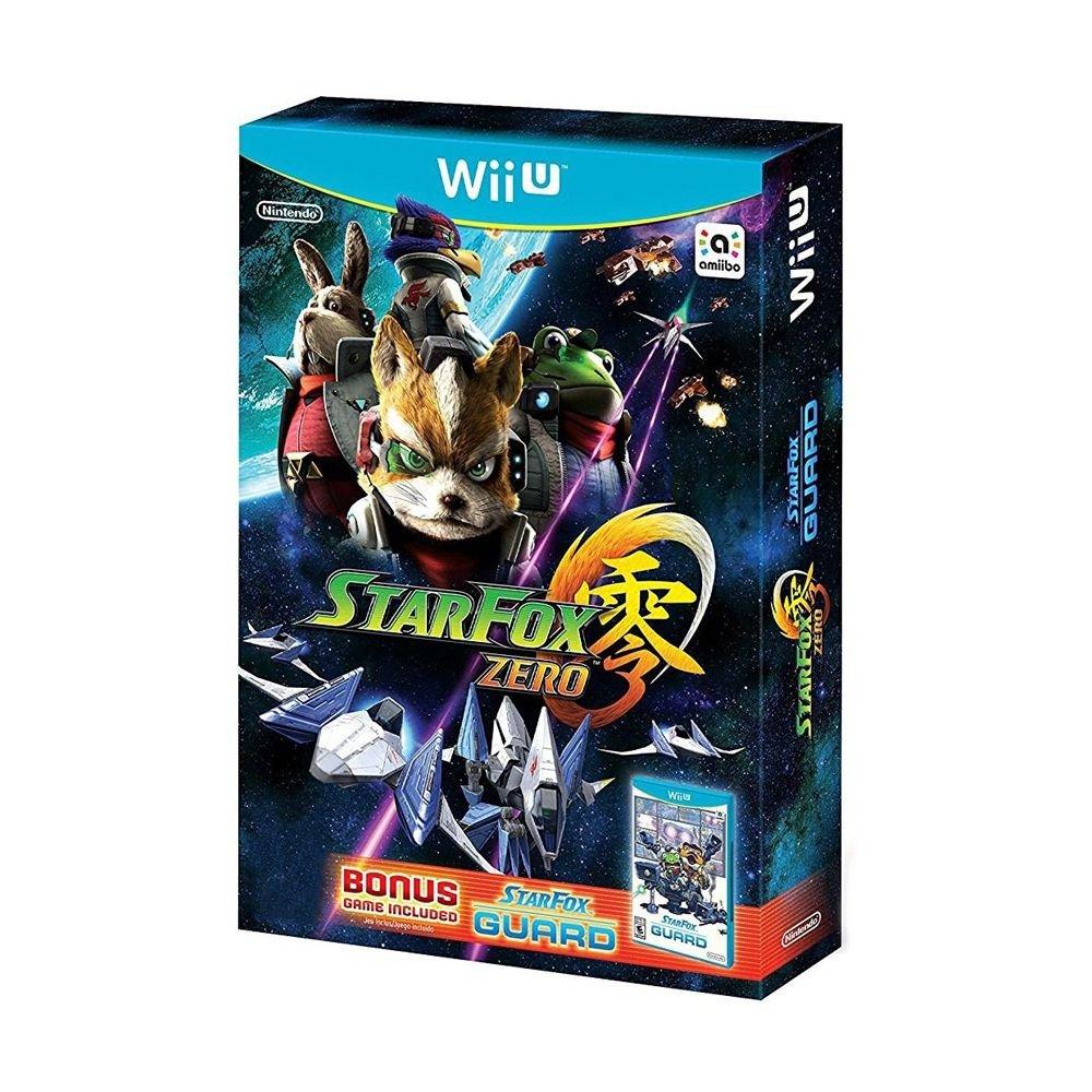 Star Fox Zero + Star Fox Guard - WIIU