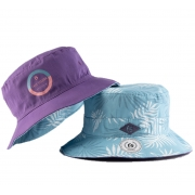 Chapéu Bucket Dupla Face Free Session Purple Azul/Roxo