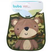 Babador com pega migalhas urso militar