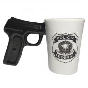 CANECA ARMA POLICIA FEDERAL