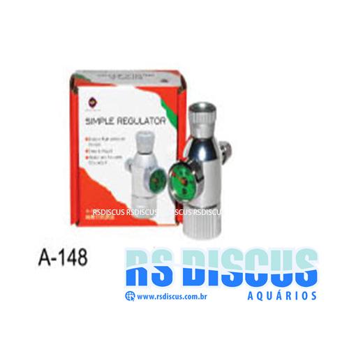 Up Aqua Valvula Mini Reguladora CO2 c/ Manômetro