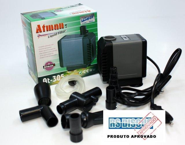 Atman Bomba Sub.- AT-305 - 1200 L/H - Coluna  1,30mt ( SFB4 )