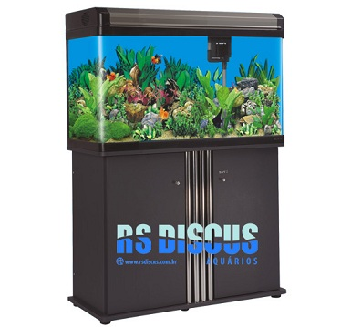 Boyu Móvel p/ aquário EA-080 -  preto (EAT)