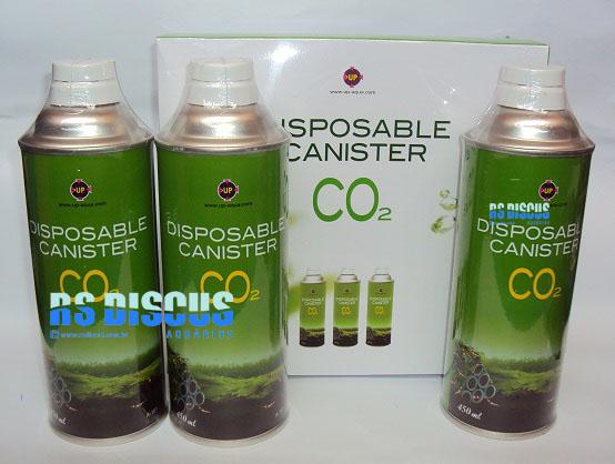 Up Aqua Disposable CO2 latas refis p/ Supply Set  ( A-162 )