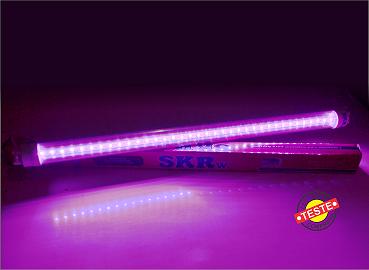SKRW Lampada Led T8 09W 60 cm ( Rosa )( Novidade )