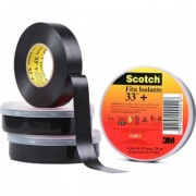 Fita Isolante 3M Scotch 33+ PVC 19mm x 20m