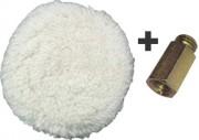 Boina Dupla Face para Polimento - Arprex com Adaptador
