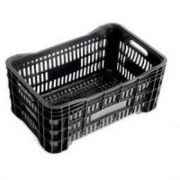 Caixa Plastica Agricola Hortifruti - Preta