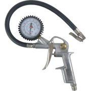 Calibrador de Pneus com Manômetro 0 a 220 lbs (psi)